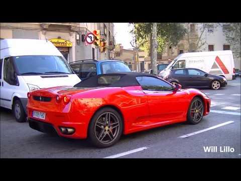 Ferrari F430 Spider BRUTAL Acceleration Sounds!!