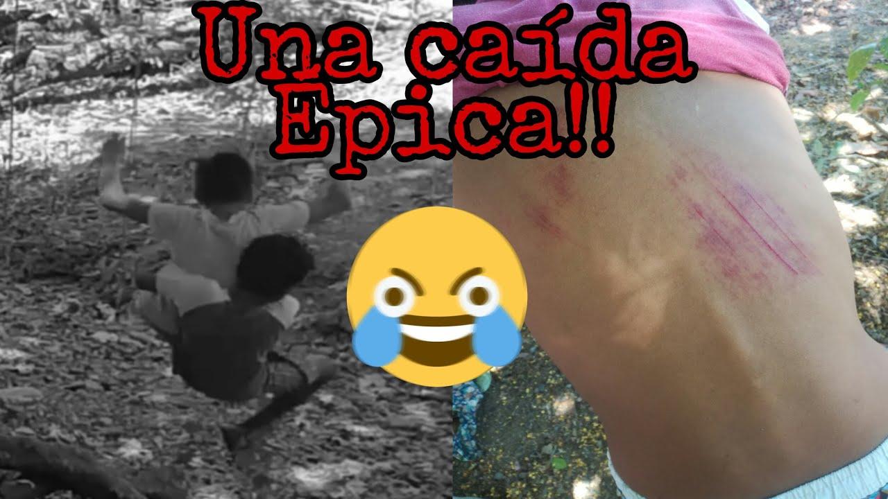 Niños Se Caen De Una Liana// Vídeo Gracioso.😆
