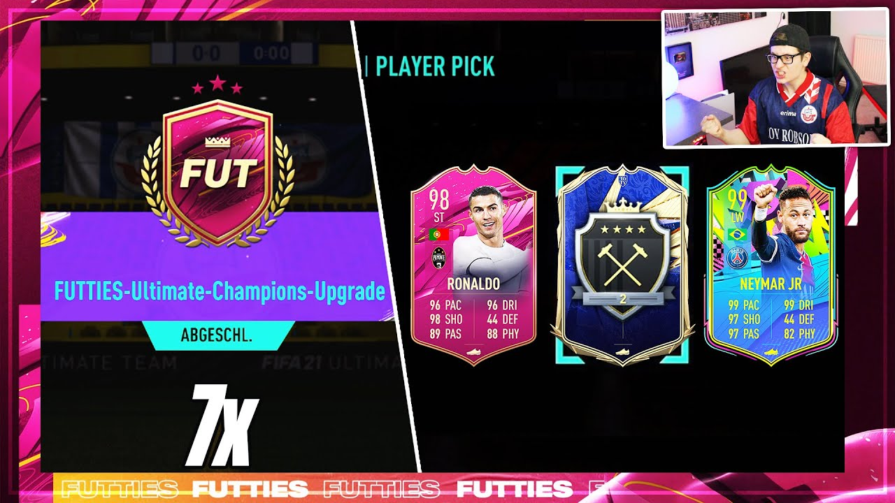 FIFA 21: DICKES LUCK + TOTY! 7x MEIN FUTTIES ULTIMATE CHAMPIONS UPGRADE PLAYER PICK 🔥 ELITE REWARDS