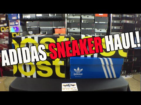 Adidas Employee Store Haul: 4 Pairs Sneakers (March 2015)