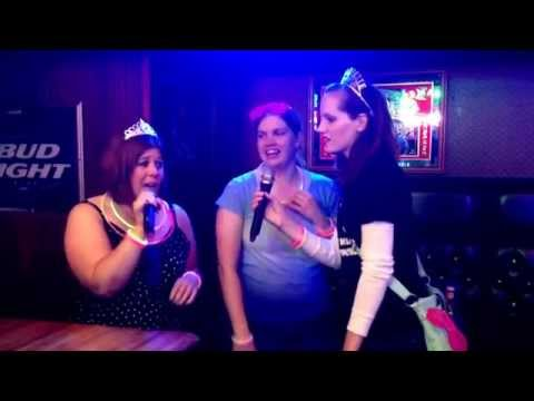 Emily's bachelorette karaoke jam July 3, 2014