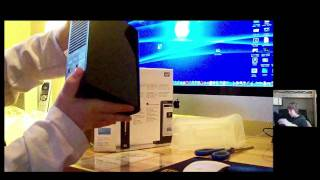 Western Digital 1TB External Hard Drive Unboxing