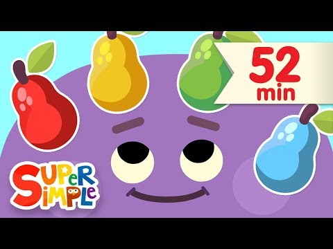 Red Yellow Green Blue | + More Kids Songs
