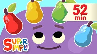 Red Yellow Green Blue |   More Kids Songs | Super Simple Songs