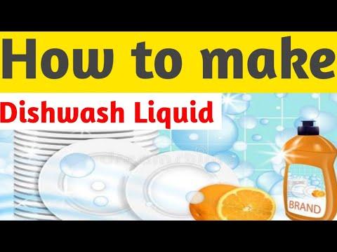 How to make liquid Dishwash formula