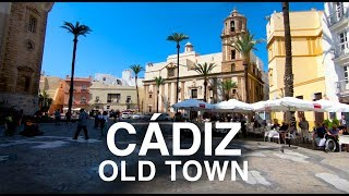 [4K] CADIZ, SPAIN (2019) WALKING TOUR - What to See In Cadiz In One Day