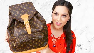 COMPRANDO MOCHILA VINTAGE LOUIS VUITTON MONTSOURIS GM