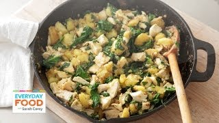 Chicken, Potato, And Spinach Hash - Everyday Food With Sarah Carey