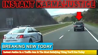 Strange News - Instant Justice In A Traffic Jam Is The Most Satisfying Thing You'll See Today