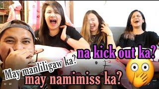 Sino ang naghabol sa ex? (Who's most likely challenge!) Pulbos Challenge