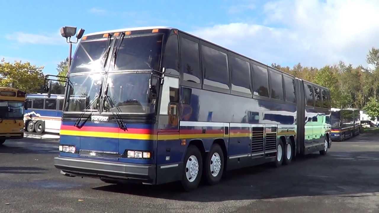 Northwest Bus Sales 1992 Prevost H5 60 Articulated 68