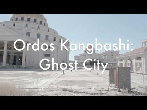Ordos Kangbashi Ghost City: Abandoned Mansion Complex
