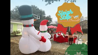 Behind the Scenes at Sleigh Stop Giveaway
