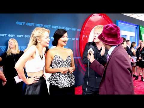Quantico  With Johanna Braddy, Yasmine Al Massri & Graham Rogers At CTV Upfront 2015