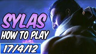HOW TO PLAY SYLAS   Build & Runes   Diamond Commentary   League of Legends   S9
