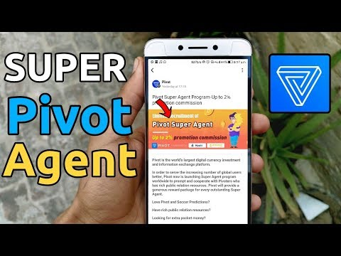 Pivot app become super agent and Event for new users | Earn BTC trick and new event