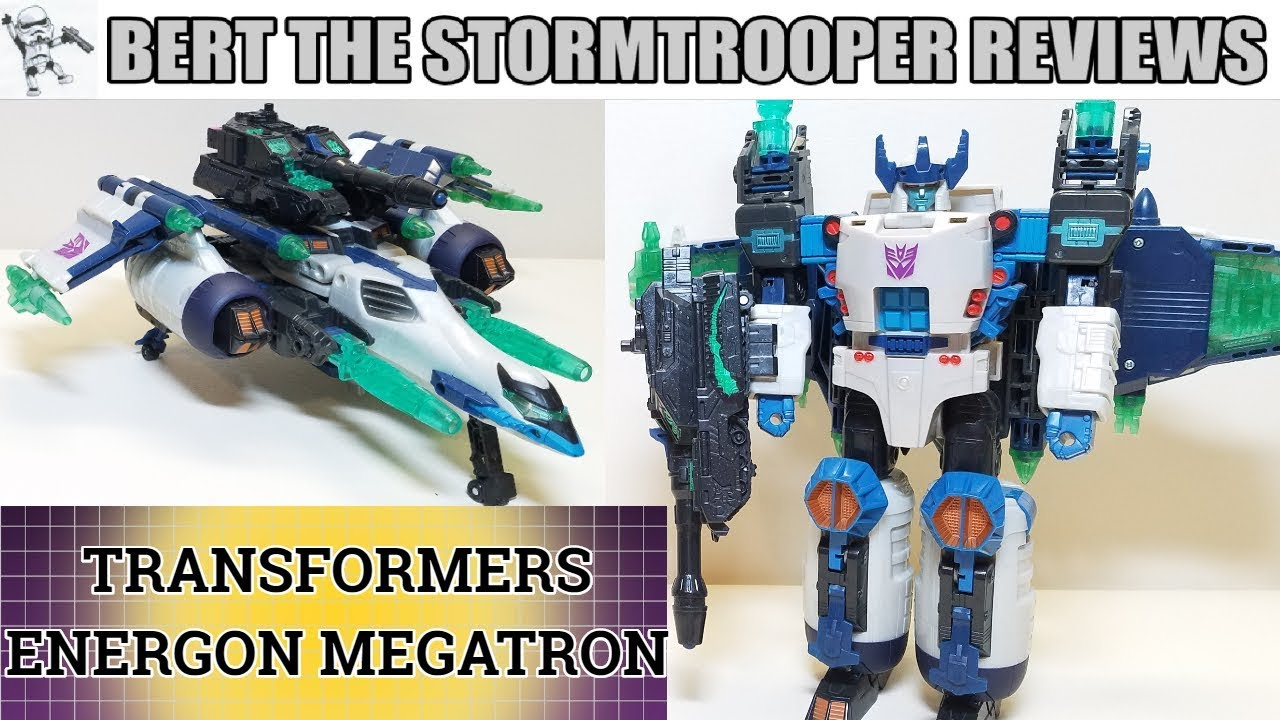 Transformers Energon: MEGATRON Review by Bert the Stormtrooper