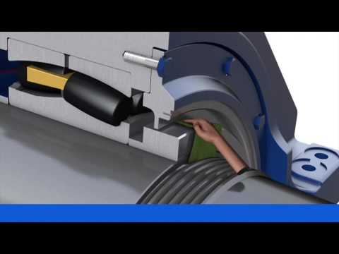 SKF Installation Instructions Of HRS And HSS Seals From SKF For Wind Turbine Main Shafts