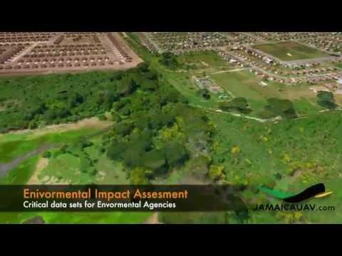 UAV Aerial Survey & 3D Map of New Harbour, Jamaica