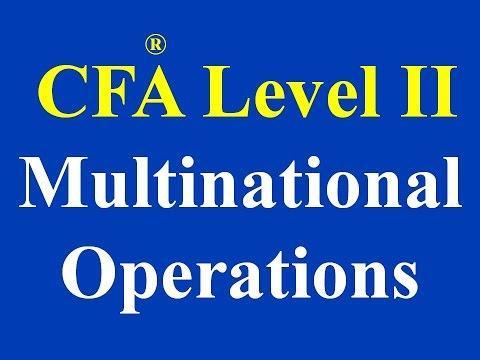 2015- CFA L2- Multinational Operations- Part I (of 3)
