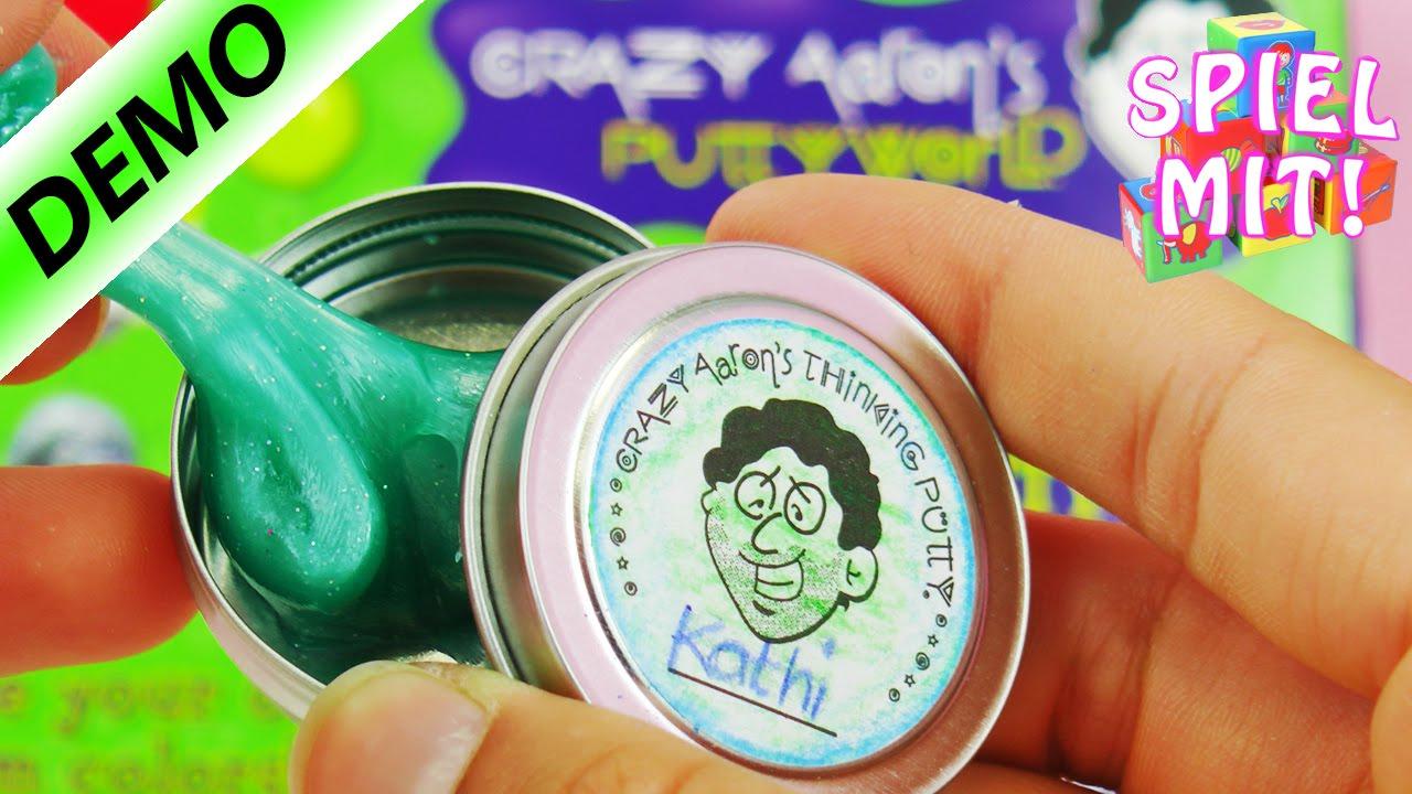 Kathis Intelligente Knete Kreation Aus Dem Crazy Aaron's