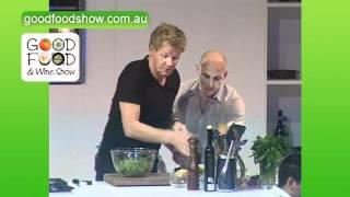Recipe: Glazed Salmon With Spinach And Radish Salad With Gordon Ramsay
