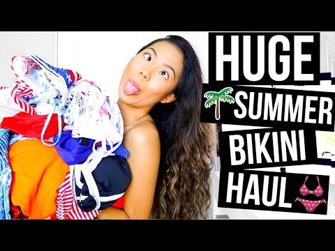 HUGE SUMMER BIKINI HAUL 2017 || Farina Aguinaldo