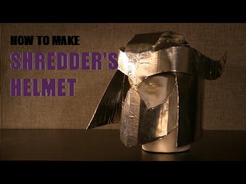 How to Make Shredder's Helmet (TMNT)