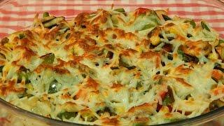 Verduras gratinadas receta fácil y rápida