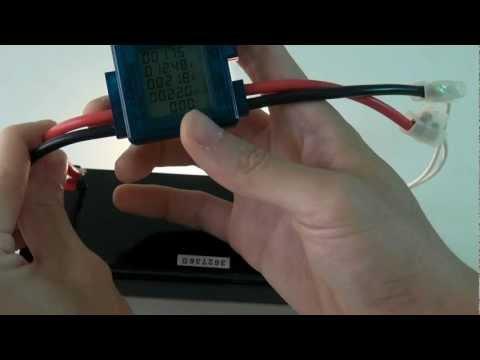 Watt Meter For Solar & Wind Power Applications
