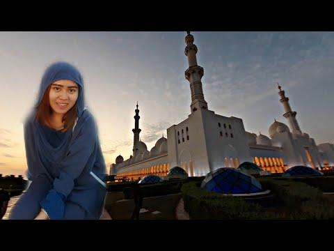 Buhay OFW sa UAE!                                   VLOG#4   Sheikh  Zayed Grand Mosque in Abu Dhabi
