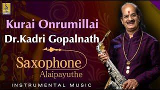 Kurai Onrumillai  - Thrilling Saxophone by Dr.Kadri Gopalnath