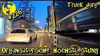 Organisatorische Höchstleistung! /  Die Wochenshow / Truck diary / ExpoTrans / Lkw Doku #226