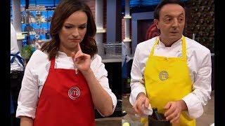 W trakcie gdy Ania przedstawiała pomysł na danie, Michel... kradł jej sos! [MasterChef Junior]