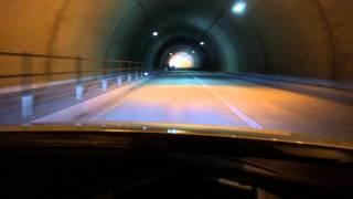 愛知県豊田市稲武町のR257にあるメロディートンネルです。 ロードノイズ...
