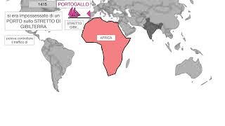 Storia  Spagna Portogallo e le esplorazioni atlantiche