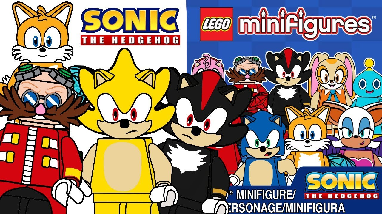 Lego Sonic The Hedgehog Minifigures Series Cmf Draft Youtube