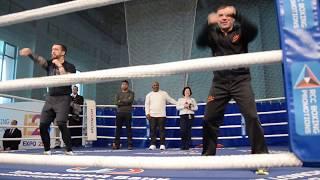 Открытая тренировка Майка Тайсона и Кости Цзю в Екатеринбурге