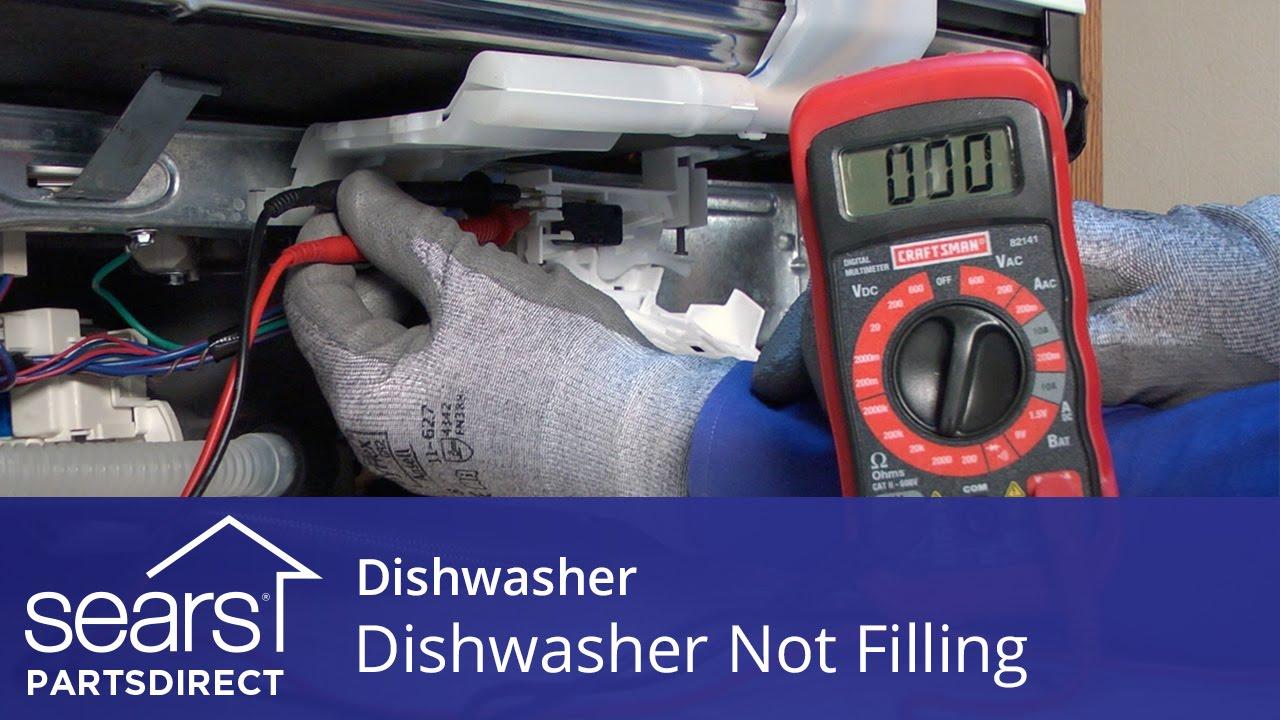 Dishwasher Not Filling