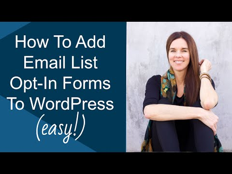 Add A Custom Email Opt-In Form To Your Website (WordPress & Magic Action Box Plugin )