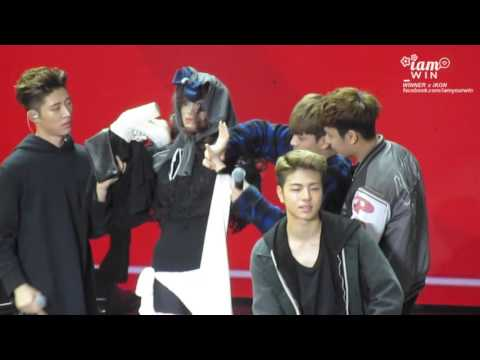 I AM WIN / 151128 iKON FM IN GUANGZHOU - BE MY GIRL GAME [CAM]