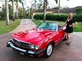 1989 Mercedes-Benz 560SL, Collectors Quality, for sale by Autohaus of Naples 239-263-8500