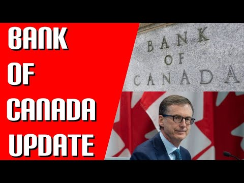 BANK OF CANADA UPDATE | Interest Rate Policy | More Quantitative Easing | Canadian Economy Update
