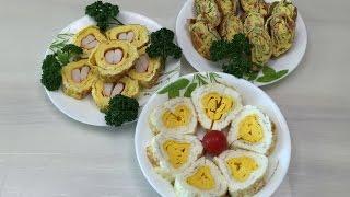 Настоящая корейская кухня: ОМЛЕТНЫЕ РУЛЕТЫ