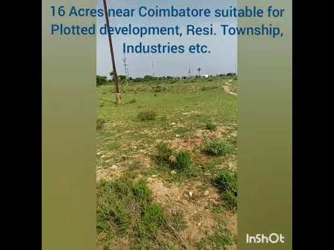 Land for sale near Coimbatore and Pollachi, Tamil Nadu.