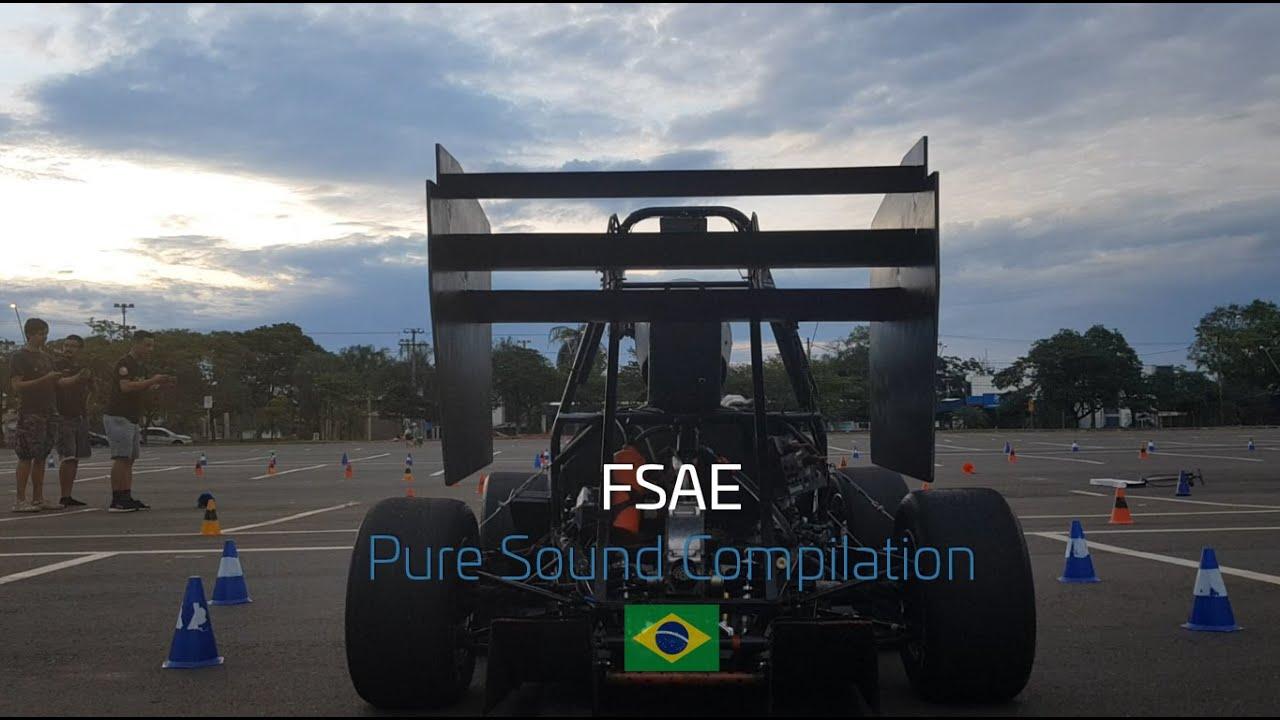 Formula SAE Brasil - Pure Sound Compilation!