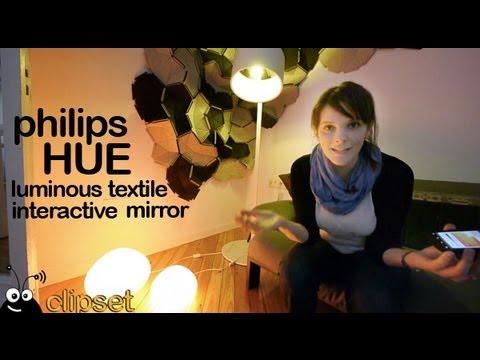 Philips HUE luminous textile review Videorama