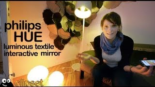 Philips HUE luminous textile review Videorama