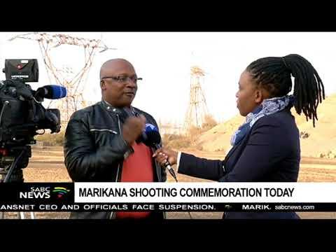 Marikana shooting commemoration today