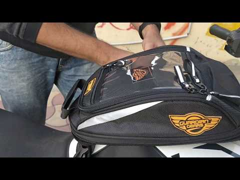 "Guardian Gears Shark-Mini ""Straps"" Tank bag Installation"